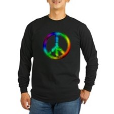 Tie Dye Peace Sign T