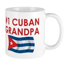 #1 Cuban Grandpa Small Mugs