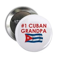 "#1 Cuban Grandpa 2.25"" Button"