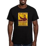 Stimulate Tyranny! Men's Fitted T-Shirt (dark)