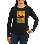Stimulate Tyranny! Women's Long Sleeve Dark T-Shir