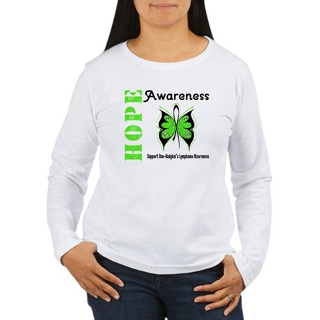 Non-Hodgkin's Hope Women's Long Sleeve T-Shirt