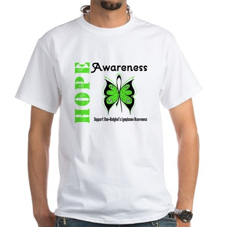 Non-Hodgkin's Hope White T-Shirt