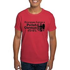 Polish German Girl T-Shirt