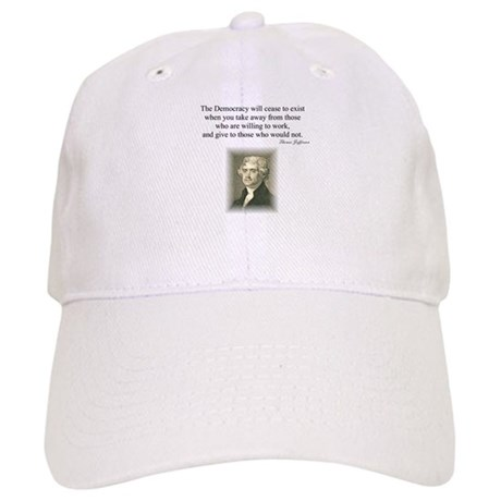 """End of Democracy"" Cap"
