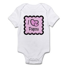 I Love Papou Infant Bodysuit