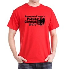 Polish German Boy T-Shirt