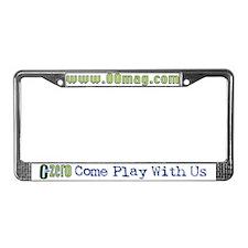 Magazine License Plate Frame