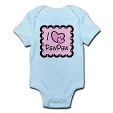 I Love PawPaw Infant Bodysuit
