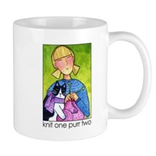 IN STITCHES No. 3... Knitter's Cocoa or Coffee Mug