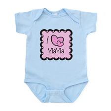 I Love YiaYia Infant Bodysuit