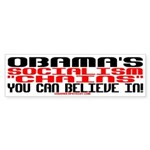 CHAINS YOU CAN BELIEVE IN! Bumper Sticker
