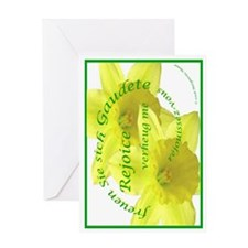 Rejoice, Multi Languages Greeting Card