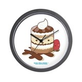 Kawaii Tiramisu Wall Clock