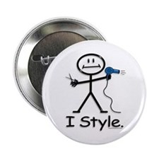 BusyBodies Hairstylist Button
