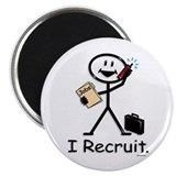 "Recruiter 2.25"" Magnet (10 pack)"