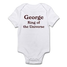 Personalized George Infant Bodysuit