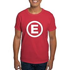 Letter E T-Shirt