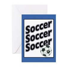 Soccer is my Life... Greeting Cards (Pk of 10)