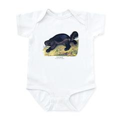 Audubon Wolverine Animal Infant Bodysuit