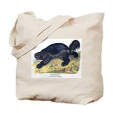 Audubon Wolverine Animal Tote Bag