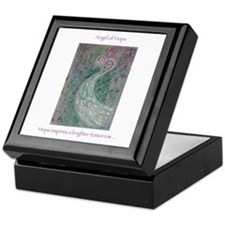Angel of HOPE Keepsake Box