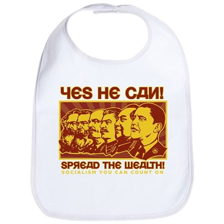 Spread the Wealth Bib