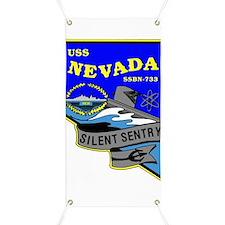 USS Nevada SSBN 733 Banner