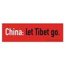 Let Go Bumper Sticker (10 pk)
