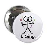 "BusyBodies Singer 2.25"" Button (10 pack)"