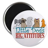 "Big Attitudes 2.25"" Magnet (10 pack)"