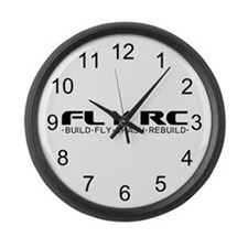 Fly RC Large Wall Clock