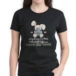 Every Bunny Earth Day Women's Dark T-Shirt