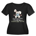 Every Bunny Earth Day Women's Plus Size Scoop Neck