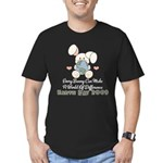 Every Bunny Earth Day Men's Fitted T-Shirt (dark)