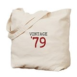 Vintage 1979 Tote Bag