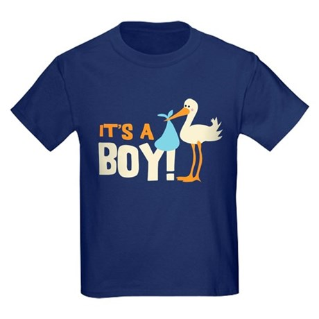 It's a Boy Kids Dark T-Shirt