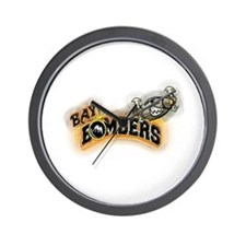 2009 Bay Bombers Wall Clock