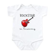 Rockstar in Training 1 Onesie