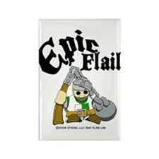 Epic Flail Rectangle Magnet (10 pack)