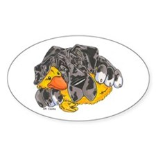 NMrl Ducky Oval Decal