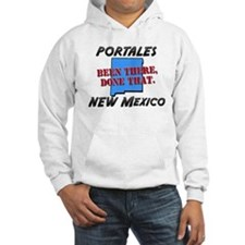 portales new mexico - been there, done that Hoodie