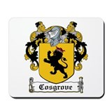 Cosgrove Coat of Arms Mousepad