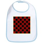 Checkerboard Bib