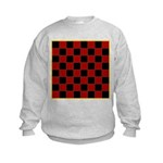 Checkerboard Kids Sweatshirt
