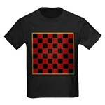 Checkerboard Kids Dark T-Shirt