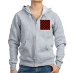 Checkerboard Women's Zip Hoodie