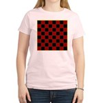 Checkerboard Women's Light T-Shirt