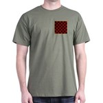 Checkerboard Dark T-Shirt