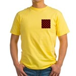 Checkerboard Yellow T-Shirt